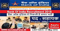bank of india recruitment 2018