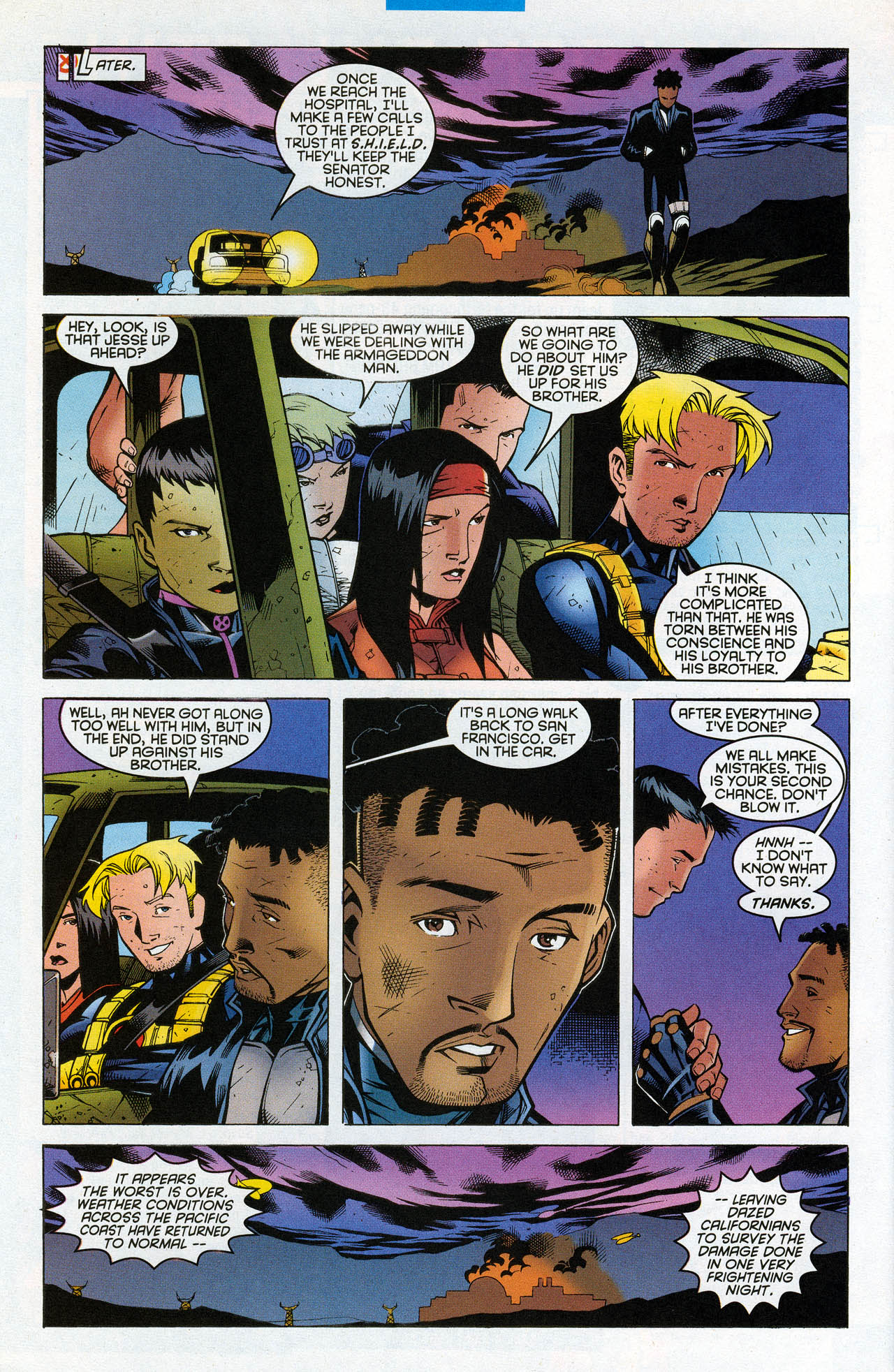Read online X-Force (1991) comic -  Issue #90 - 29