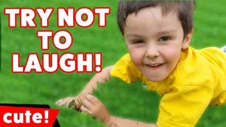 Try Not To Laugh or Grin Funny Kid Vine Compilation