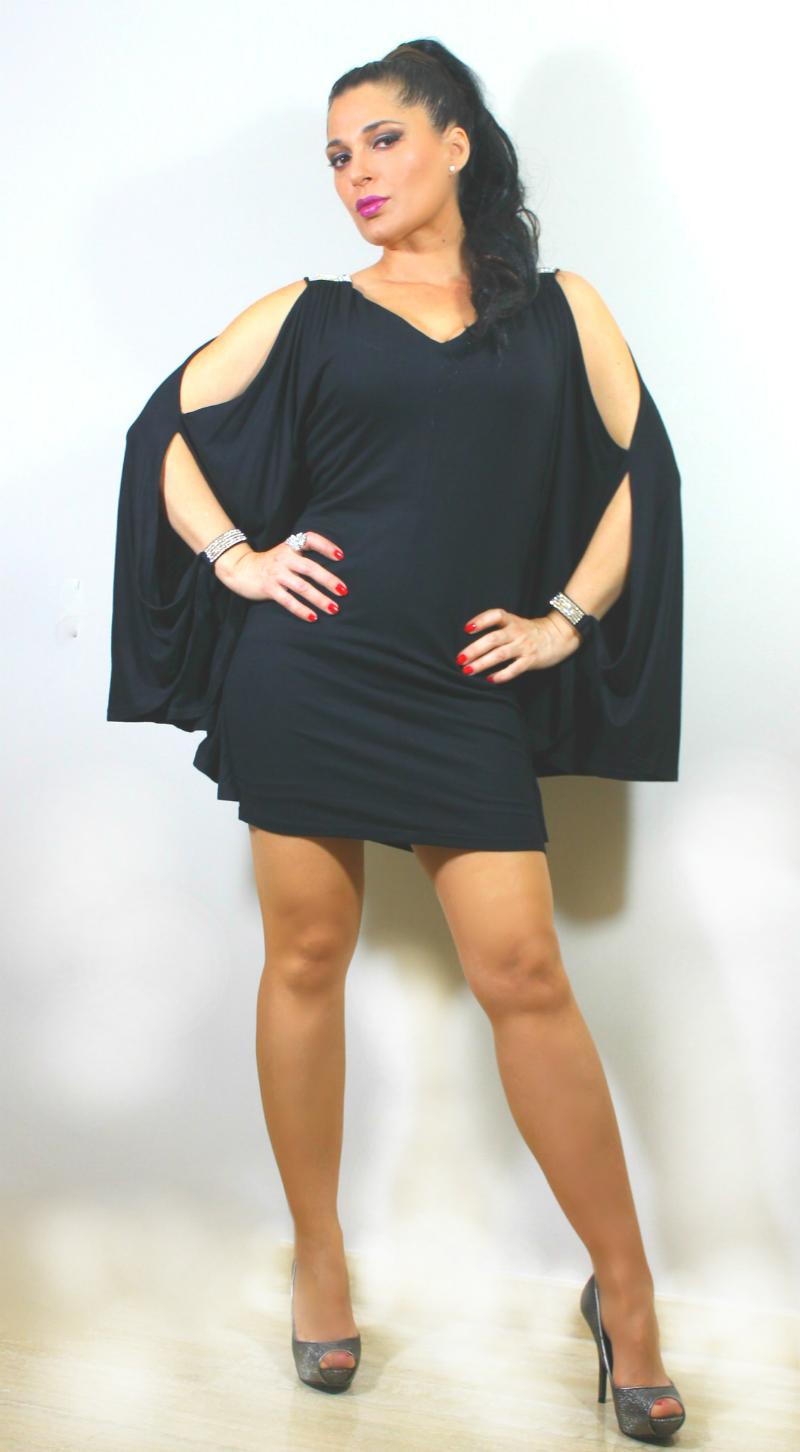 Vestidos de fiesta con manga ancha