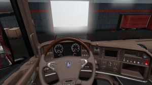 Brown Interior & Scania RJL