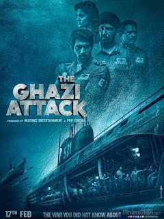 Trận chiến dưới đại dương - The Ghazi Attack (2017) [HD-Vietsub+Thuyết minh]