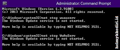 netframeworks gagal di install