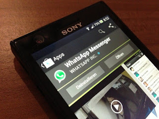 Dowmload Whatsapp For Sony Ericsson