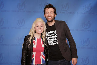 David Tennant and Jenna Say What
