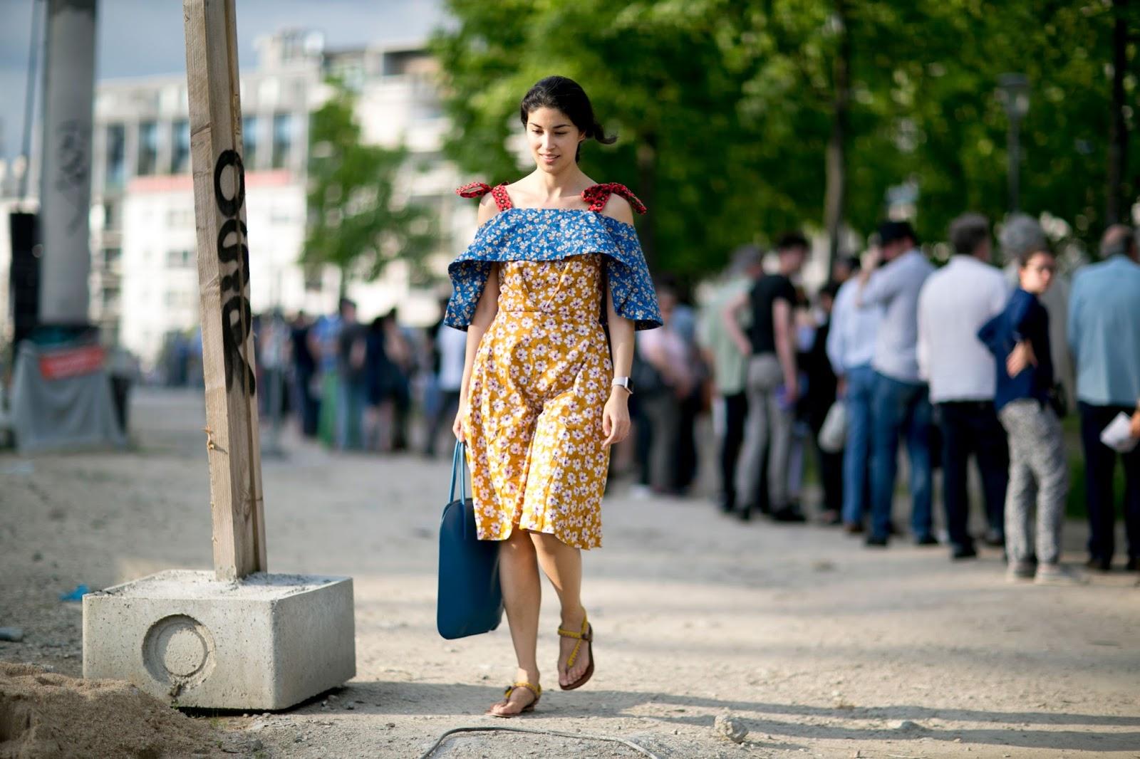Street Style: Caroline Issa's Floral Dress