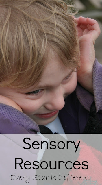 Sensory resources for kids.