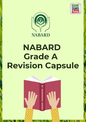 NABARD Grade A Revision Capsule 2019