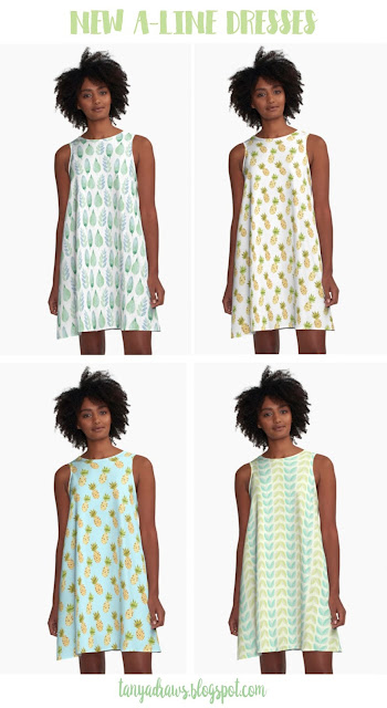 A-Line Dresses from Redbubble