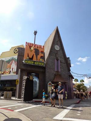 Despicable Me Minion Mayhem Universal Studios Orlando Floride