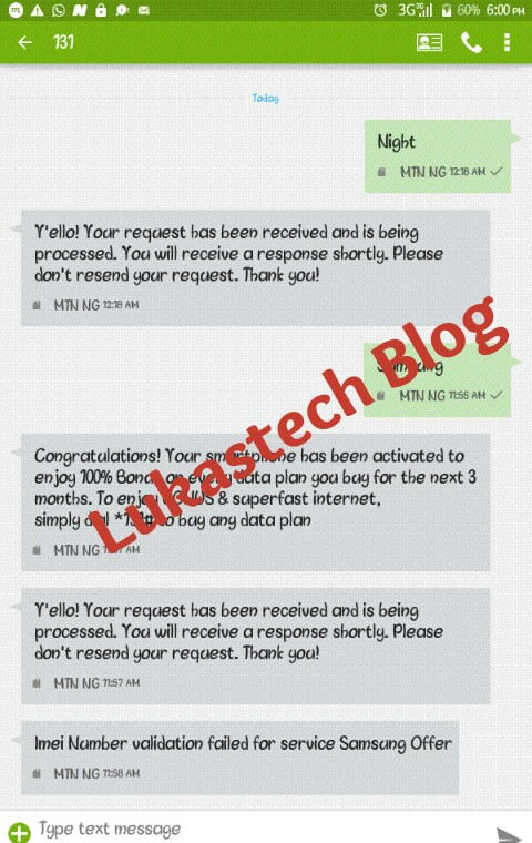 Tweak IMEI for 100% bonus