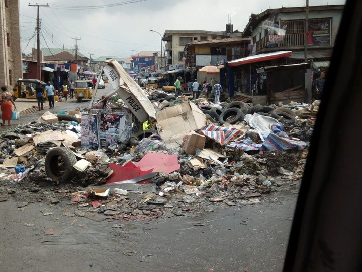 Mountain of refuse besiges Imo State capital Owerri