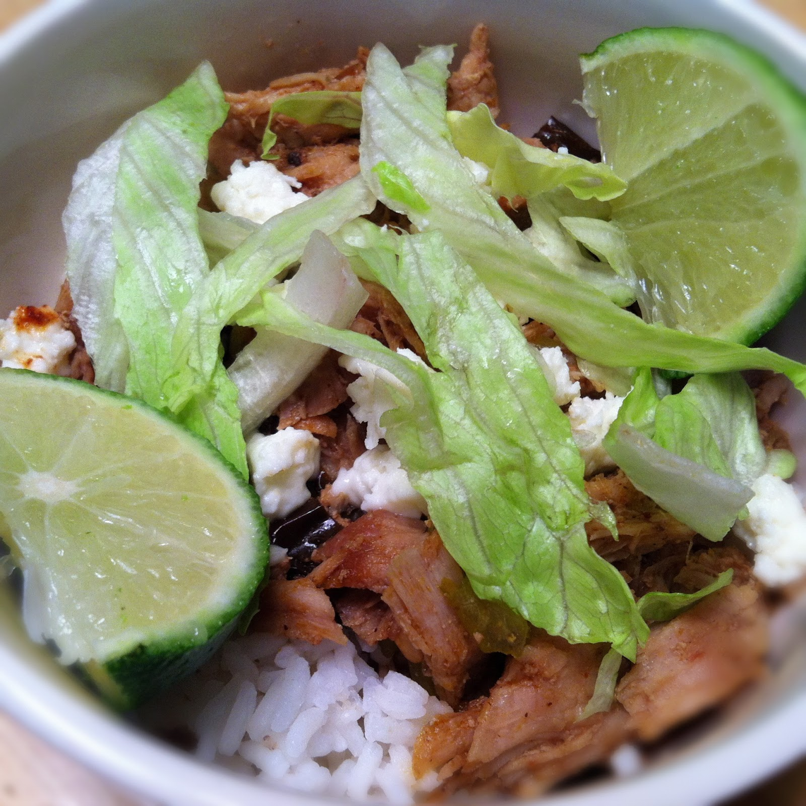 What's Cooking in the Burbs: Sweet Barbacoa Pork Burrito Bowls