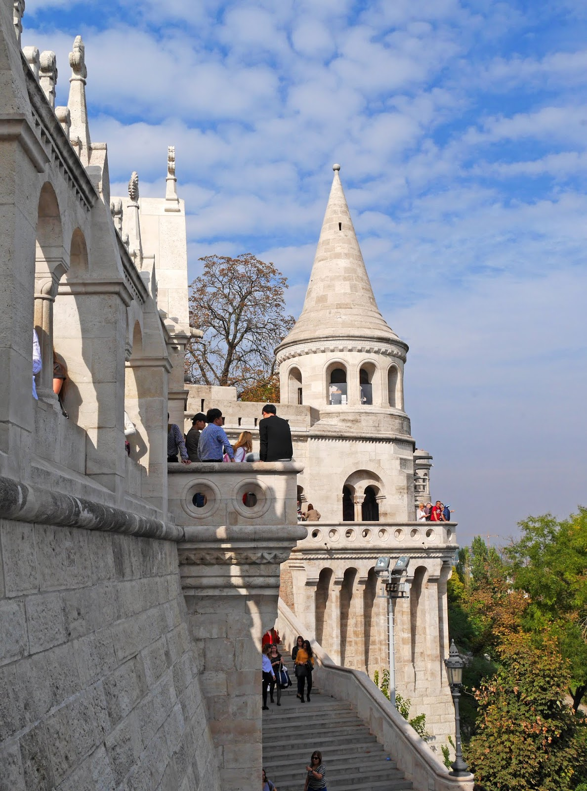 Fisherman's Bastion in Autumn, Budapest