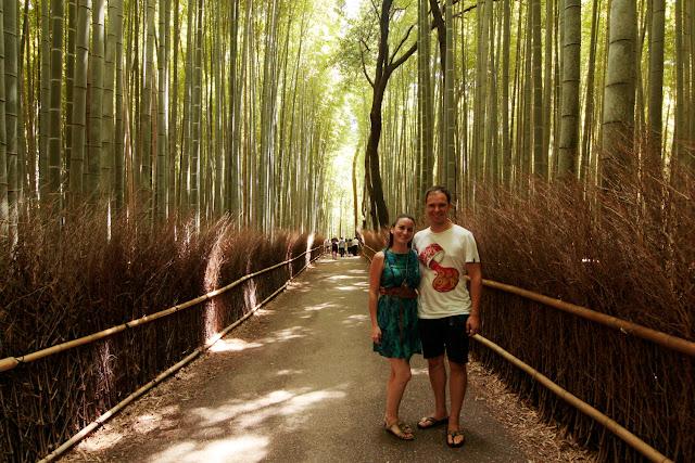 Bosque de bambú en Arashiyama (Kioto)