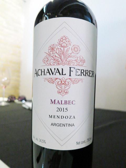Achával Ferrer Malbec 2015 (90 pts)