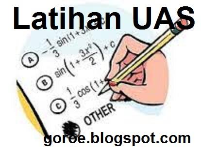 Soal dan Jawaban Latihan UKK / PAT Bahasa Indonesia Kelas 7 SMP/MTS 2022-2023