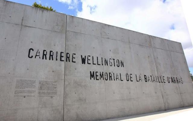 Wellington Steinbruch, Frankreich