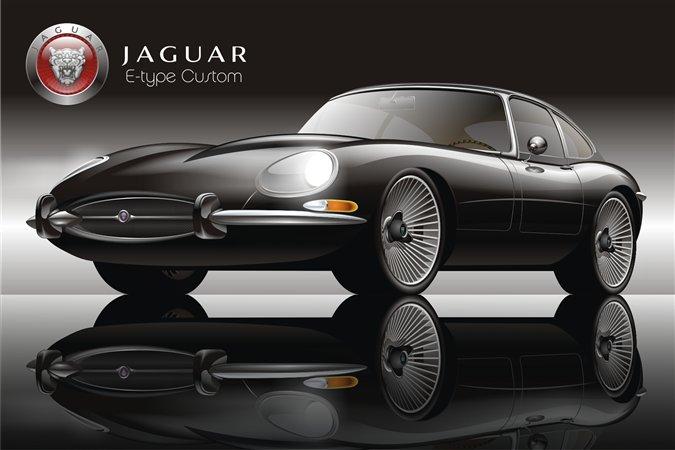 Carsautomotive: black jaguar car - photo#23