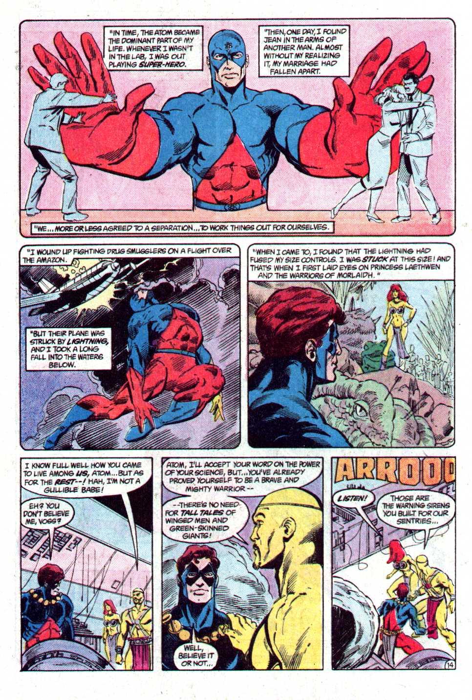 Read online Secret Origins (1986) comic -  Issue #29 - 16