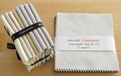 Luna Lovequilts - Heart mini quilts - Oakshott fabrics