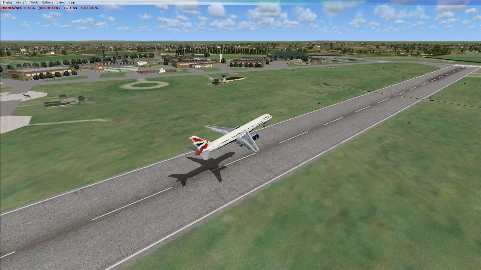MS Flight Simulator X: Free scenery and aircraft addons from Just Flight