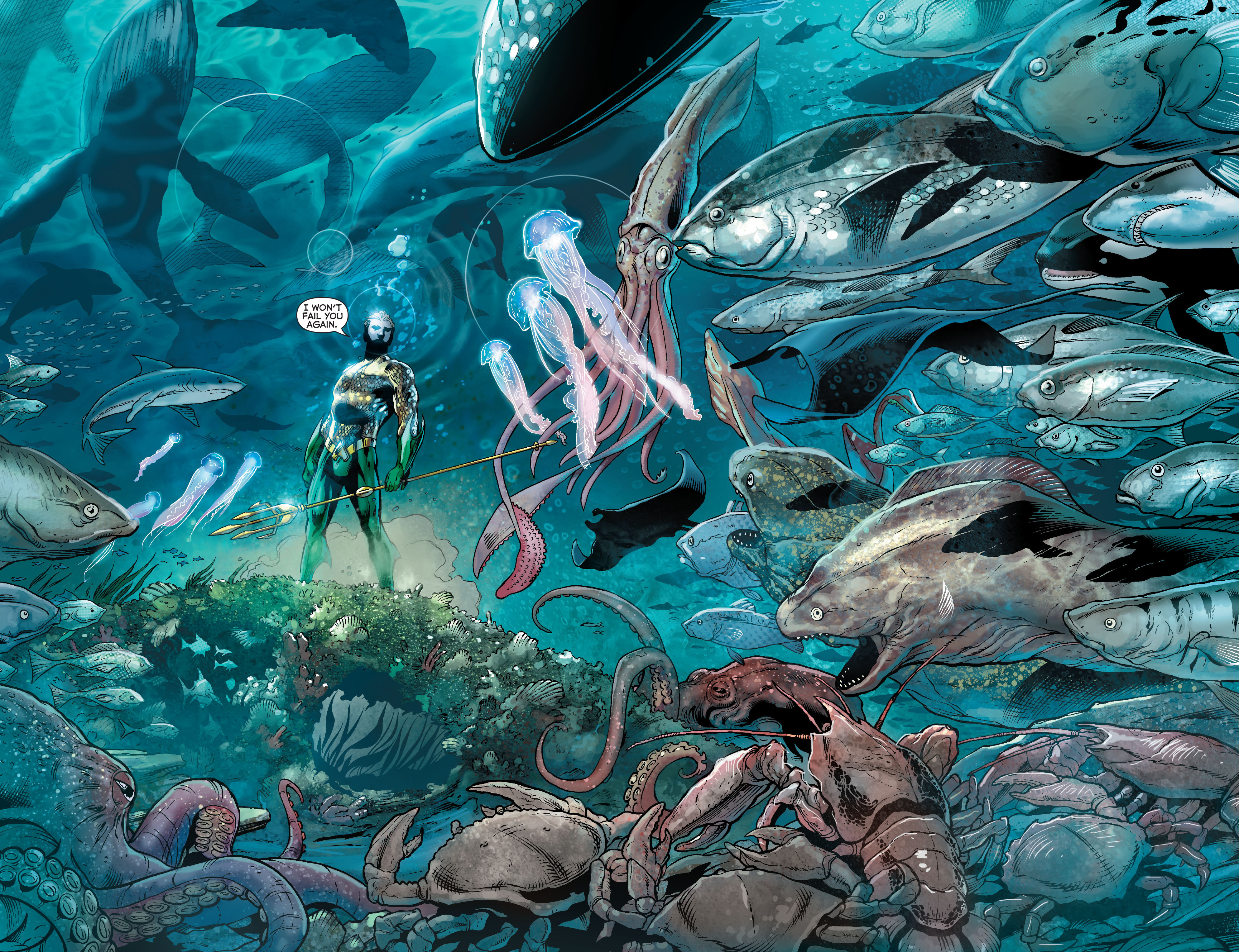 Read online Aquaman (2011) comic -  Issue #17 - 18