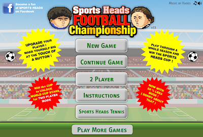 Vamos Jogar? #02 - Sports Heads Football Championship