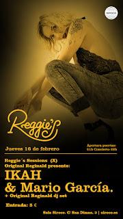 Reggie's Sessions presenta a Ikah y Mario García en Siroco