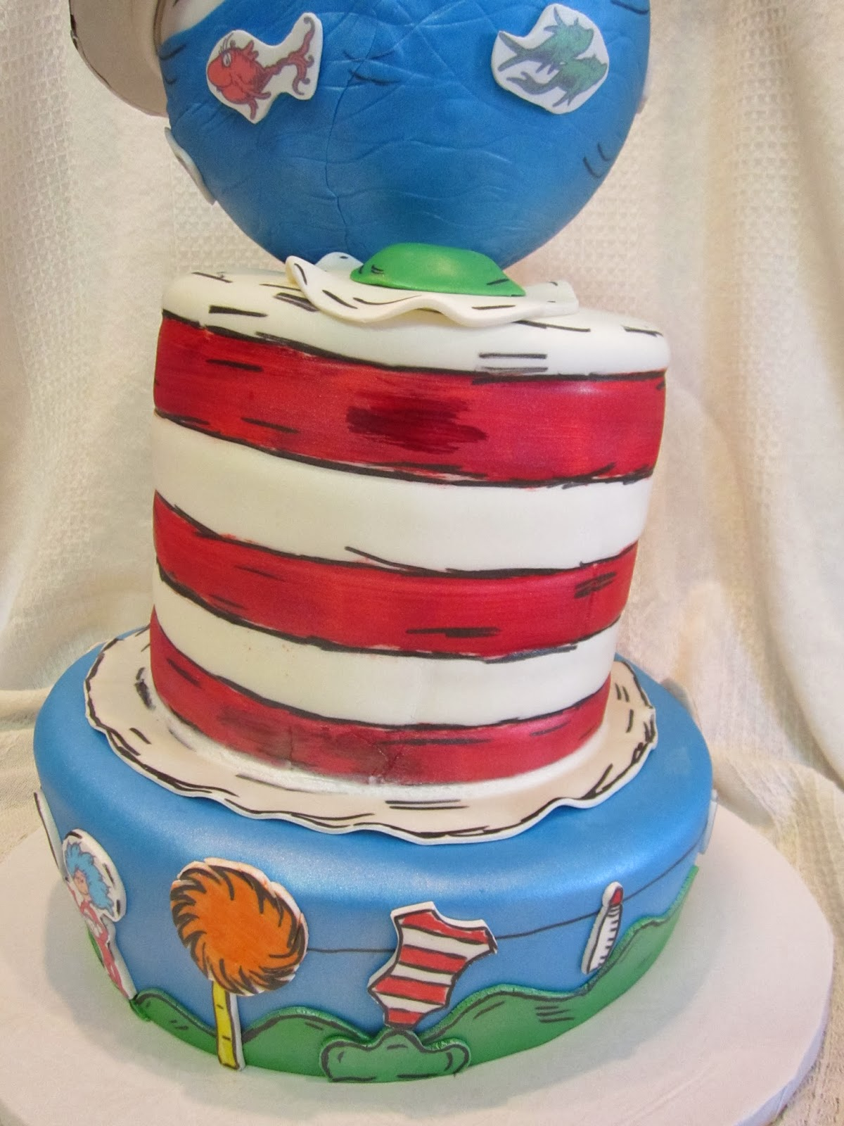 Mymonicakes Topsy Turvy Dr Suess Inspired Baby Shower