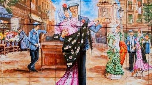 EUROPA: El Chotis es un baile típico de Madrid con motivo de la celebración de las fiestas de San Isidro.