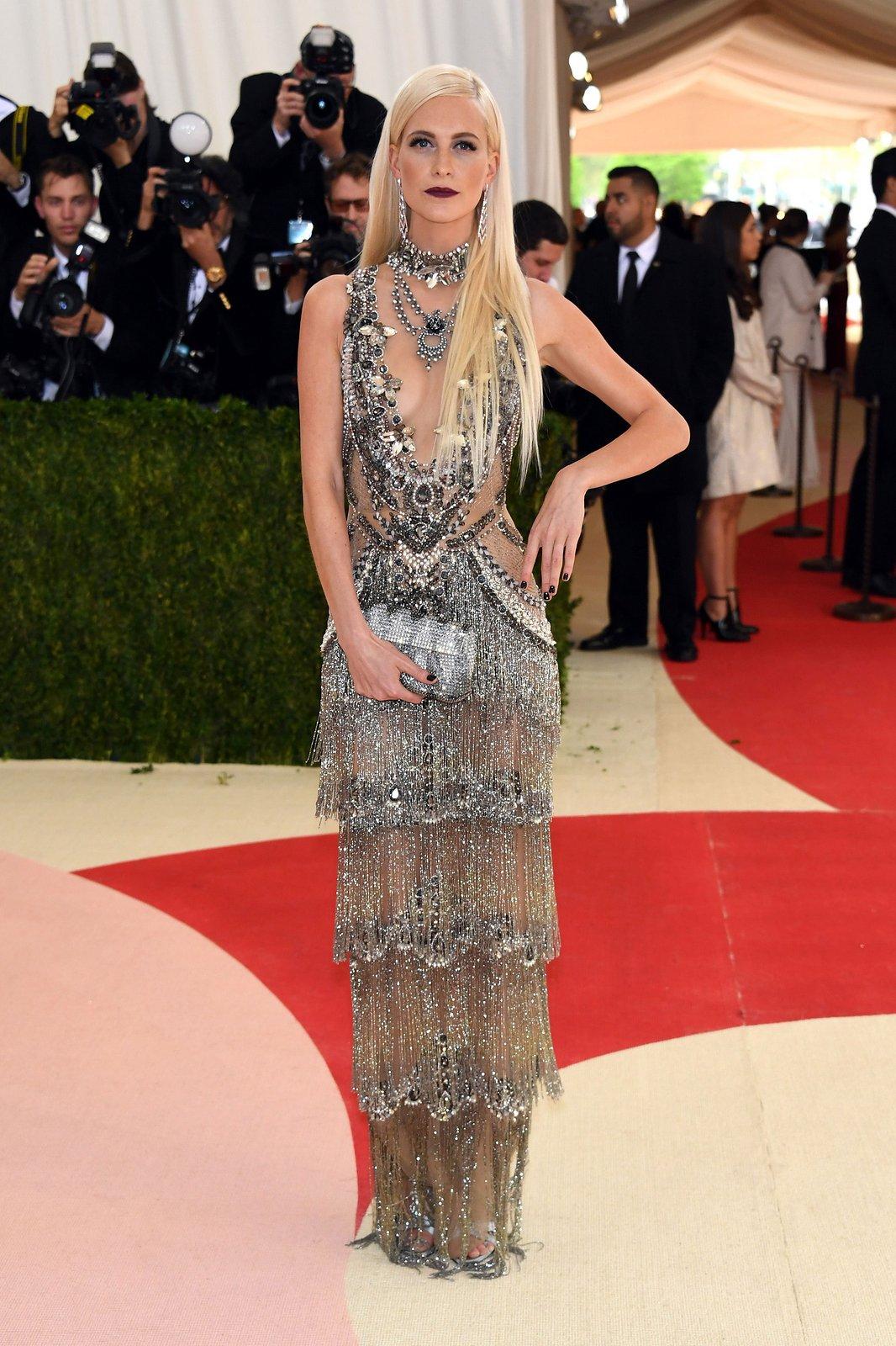 met gala 2016 l poppy delevingne l sukienka marchesa
