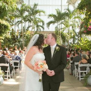 Jewel Box Wedding In Forest Park