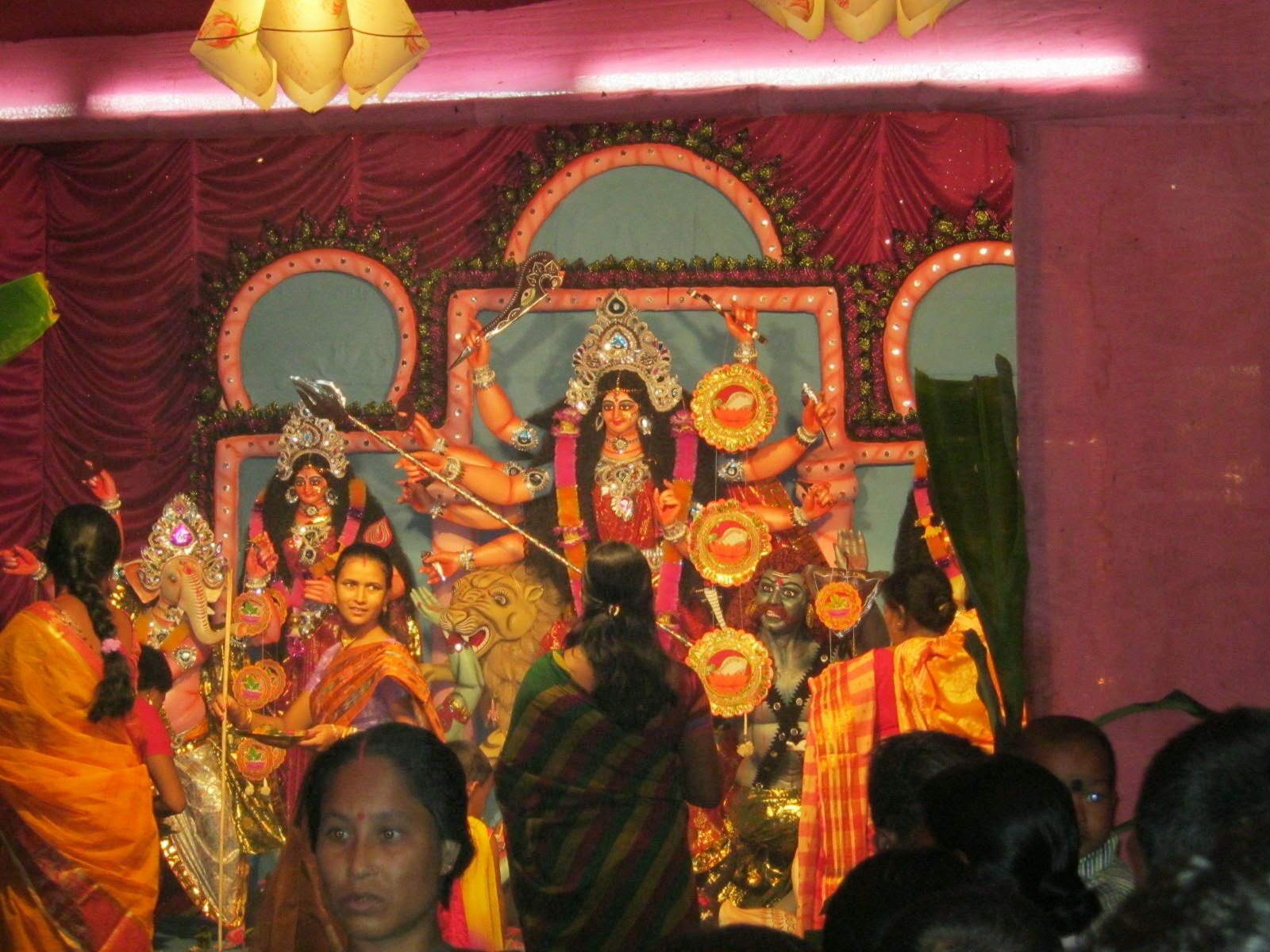 Kumarpara Sarojanin Durga Puja