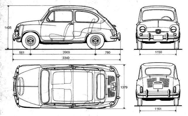 Analisis de Maquinas: Seat 600 D (1963-70)
