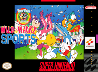 Tiny Toon Adventures: Wild & Wacky Sports (BR) [ SNES ]