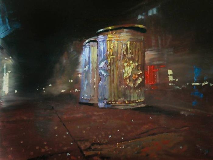 Сербский художник. Relja Penezic