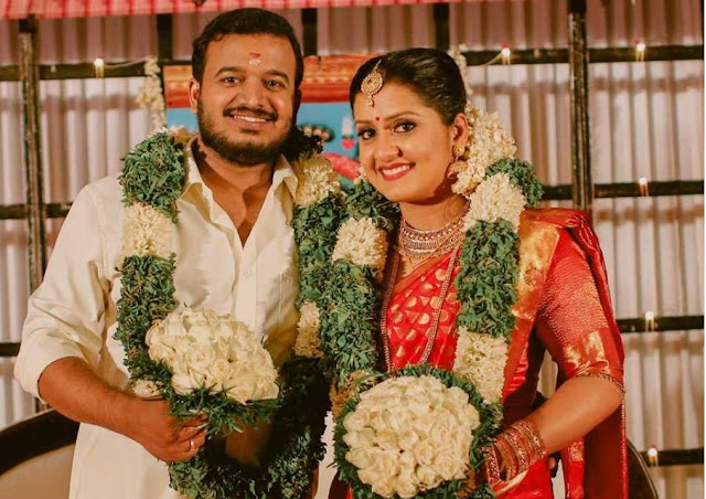Actress Sarayu Mohan married Sanal V Devan