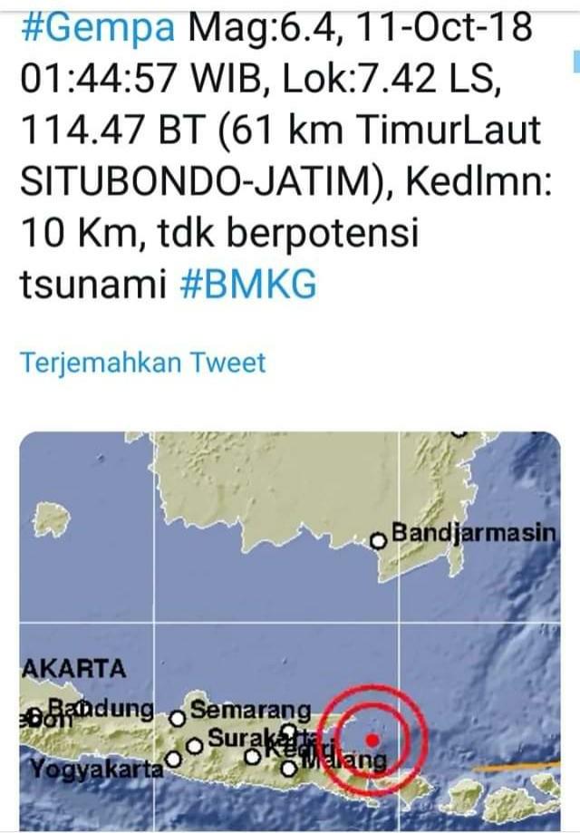 Gempa Situbondo, Fakta Ini Paling Mengkhawatirkan
