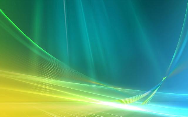 Mooie abstracte Windows wallpaper met lichtgevende lijnen