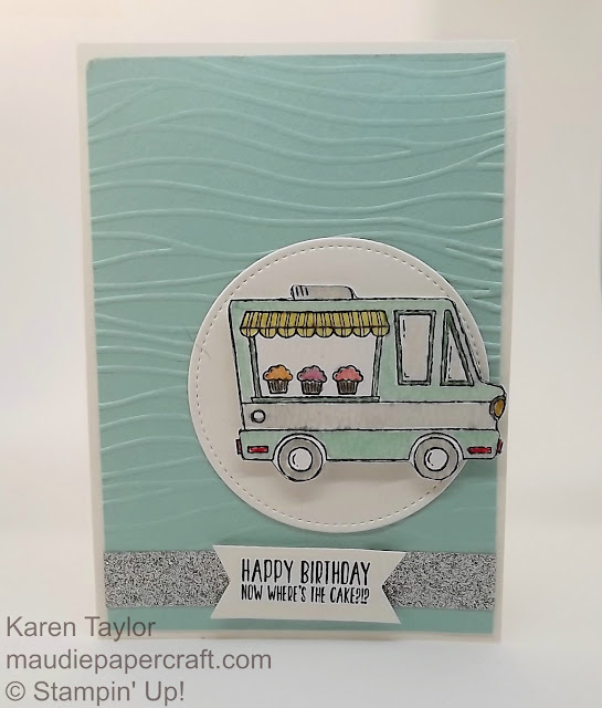 Stampin' Up! Sale-a-bration Tasty Trucks