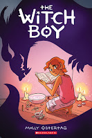 the witch boy by molly ostertag cover
