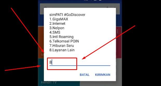 Mengecek Nomor Telkomsel Di Hp Sendiri Melalui Kode USSD 2019 5