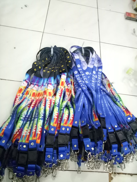 Tali lanyard digital printing full colour
