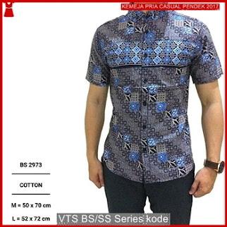 VTS baju kemeja pendek pria.!! BMGShop Bj2935