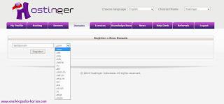 ensiklopedia harian - membuat domain