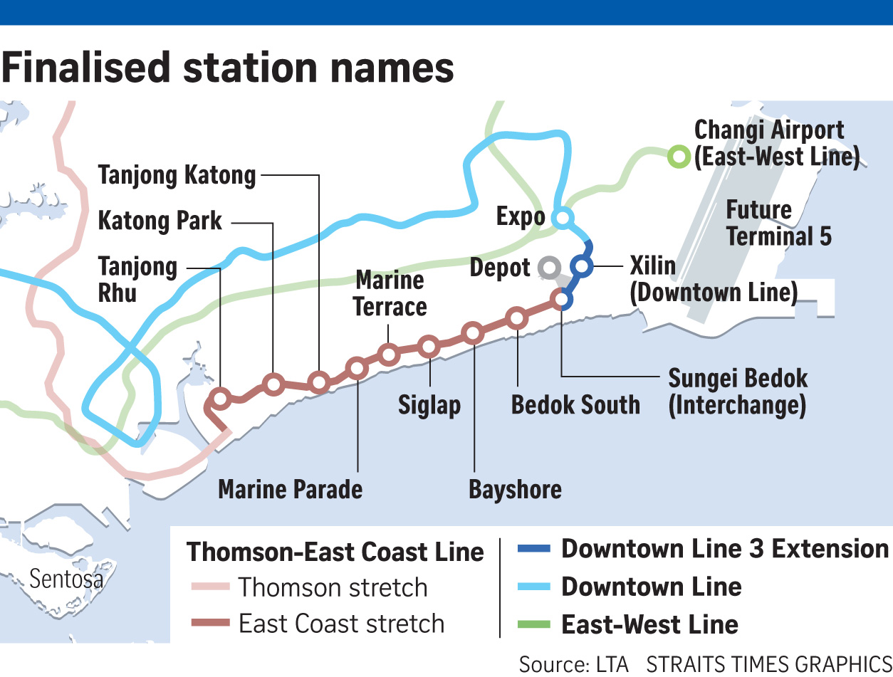 If Only Singaporeans Stopped To Think Thomson East Coast Line New Mrt Links In The East