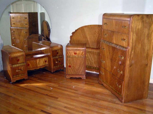 vintage art deco bedroom furniture sets ideas