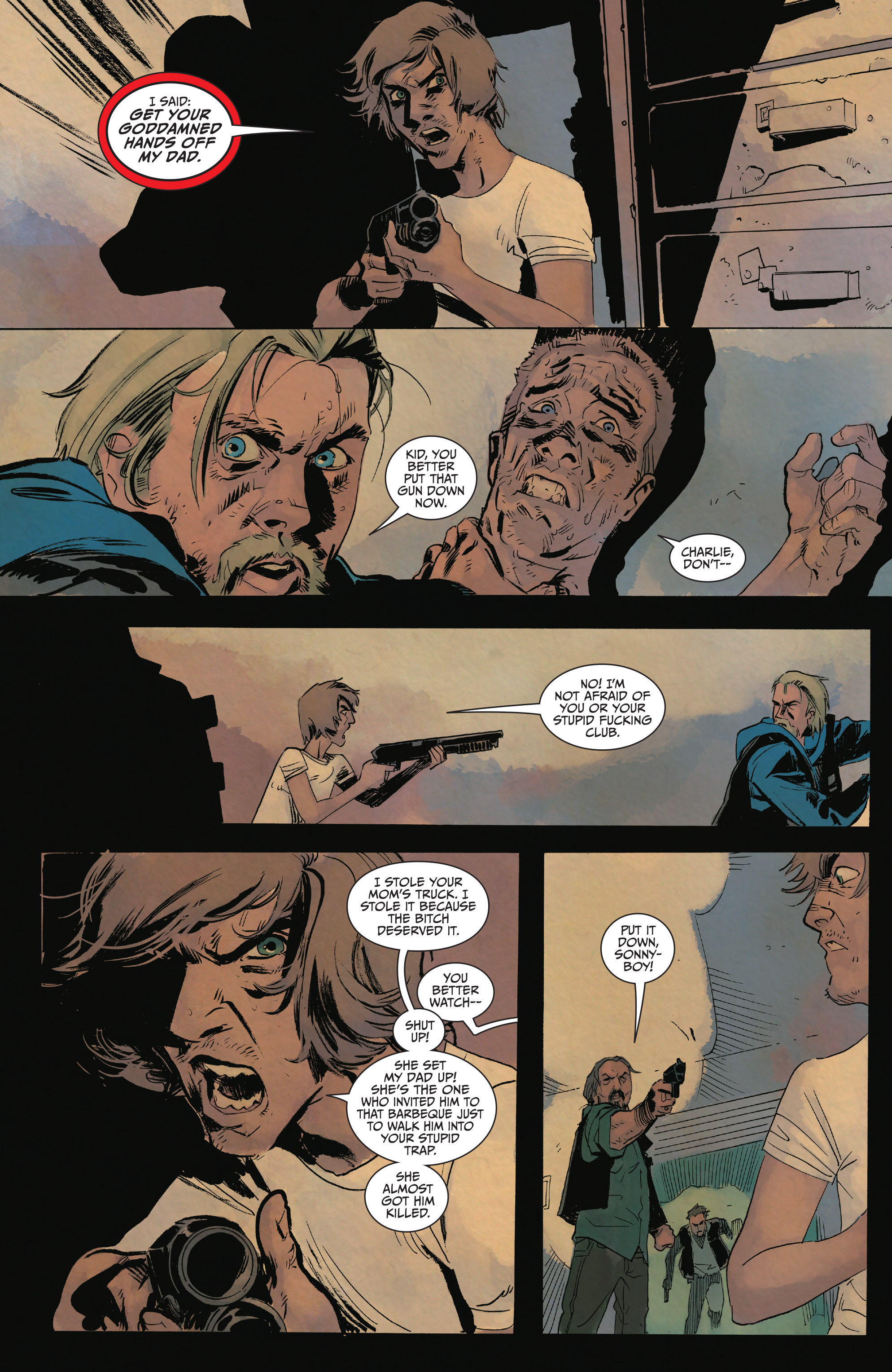 Read online Sons of Anarchy comic -  Issue #15 - 16