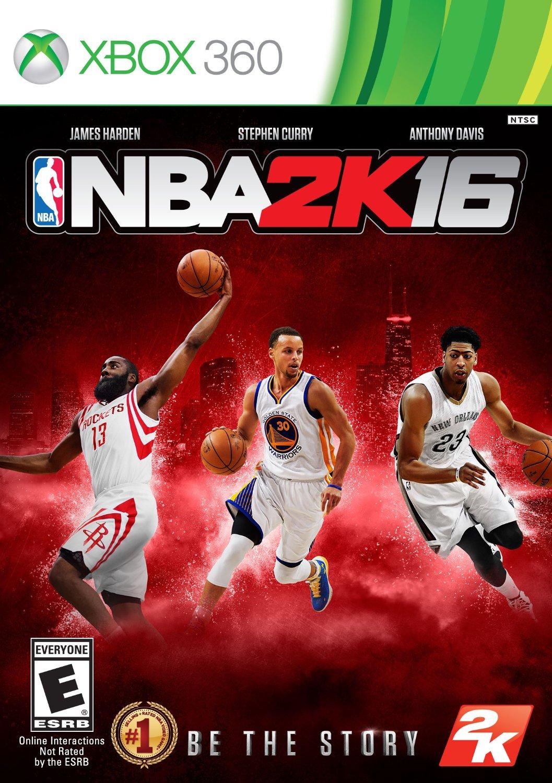 NBA 2K16 ESPAÑOL XBOX 360 Cover Caratula